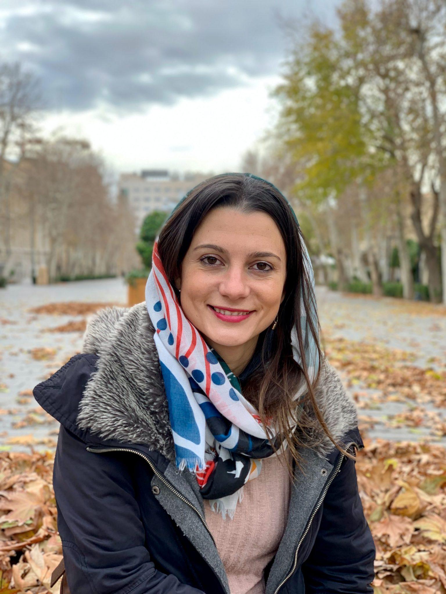 women wearing scarf