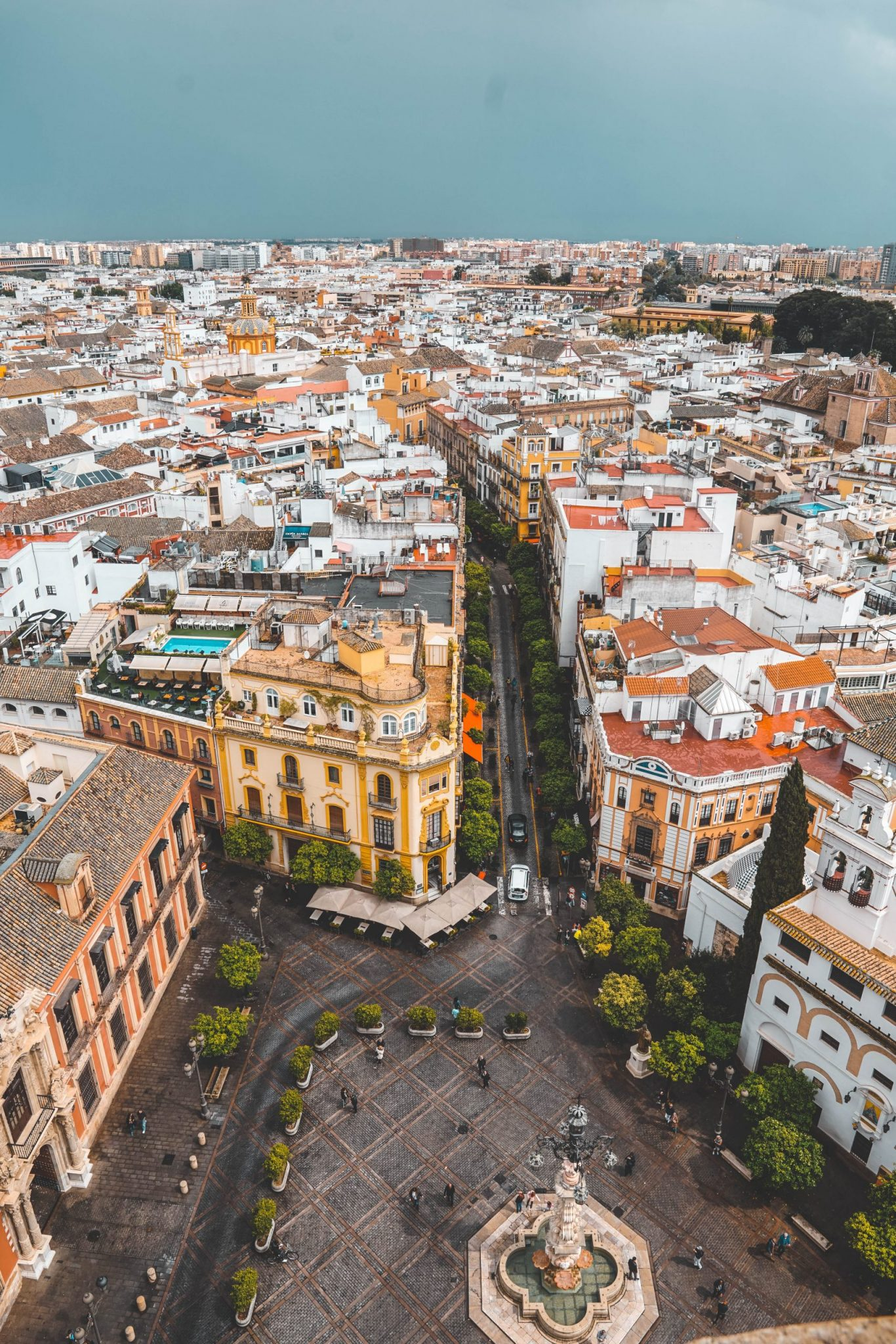 aerial photo of Spain during daytime