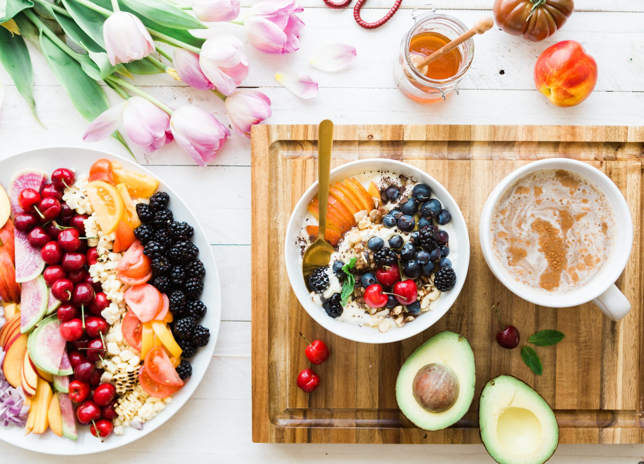 comida baja en calorías